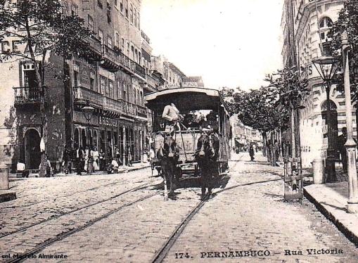 recife-rua victoria, 1890