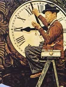 relógio clock-mender