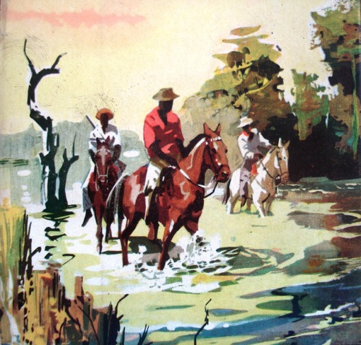 tropeiros sertanejo a cavalo