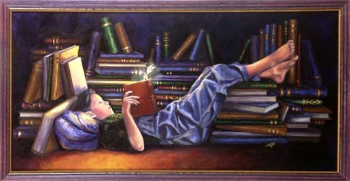 Denyse Klette reading