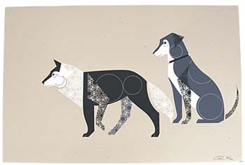 dog & wolf Eleanor Grosch