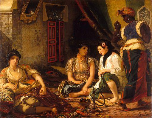 Eugène Delacroix, WomenofAlgiers