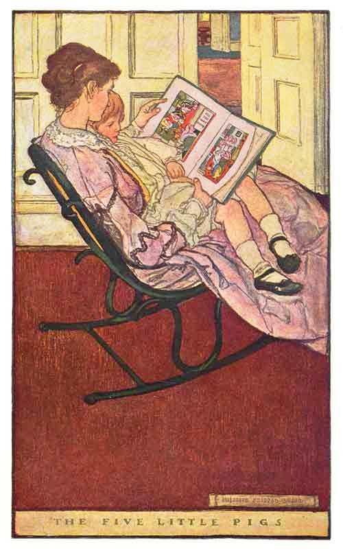 lendo conto de fadas, elizabeth shippen green