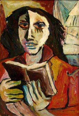 Antonio Bandeira, Leitura, 1948, osm