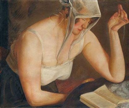 boris-grigoriev-russian-artist-1886-1939-woman-reading-1912
