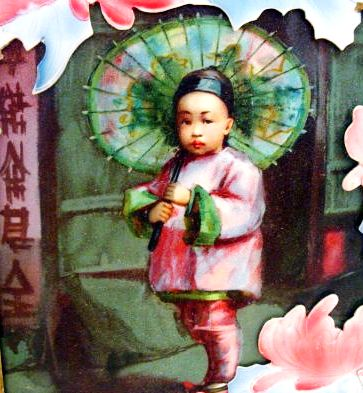 chinesinho, cartão postal, 1930s