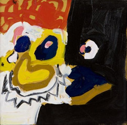 CLOWN FACES, 1999, Jasper Joffe (Inglaterra, 1975), 30x30cm, ost