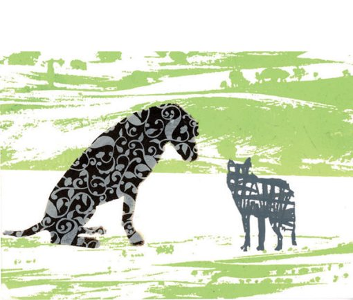 el lobo y el perro, julia pelletier, 2003