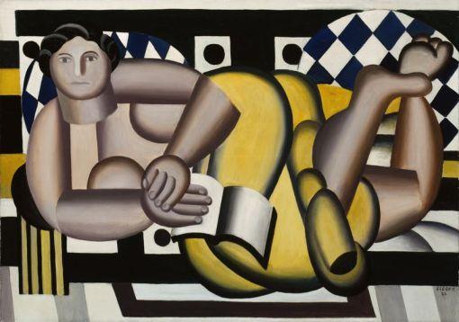 Fernand Léger, (1881-1955) Mulher recostada, Art Institute of Chicago