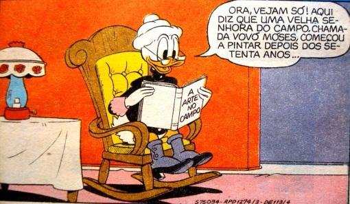 lendo vovó donalda