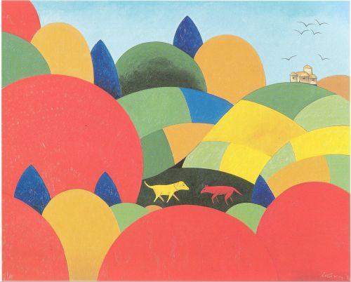 loup et xhien, w aractingy, 1992