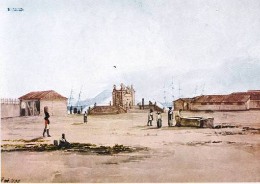 Thomas Ender Chafariz do Largo do Moura