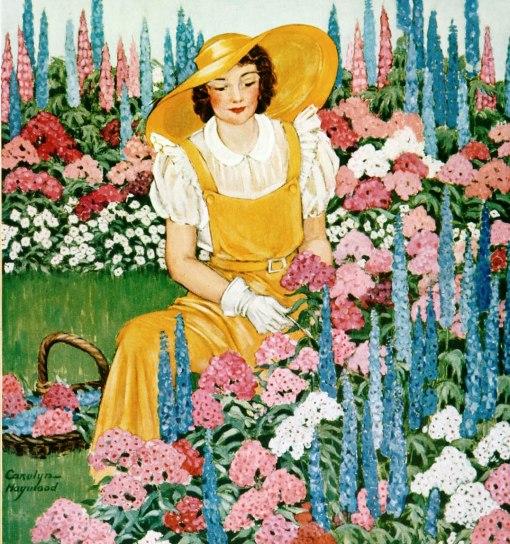 jardinagem, cg 1933, carolynn Haywood