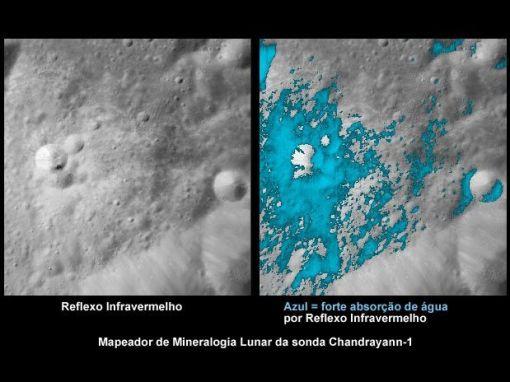 mapeador de Mineralogia Lunar da sonda Chandrayann-1