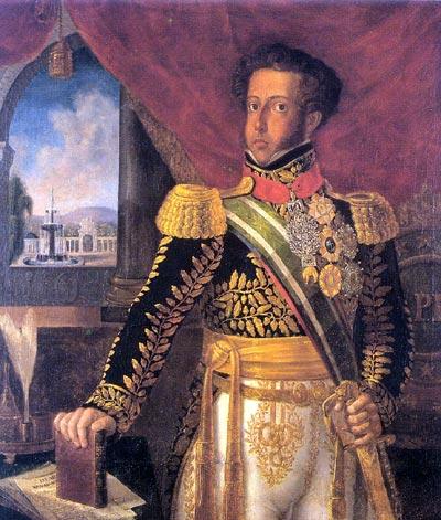 Pedro I, Araujo Porto Alegre, MHN