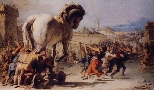 Tiepolo, Trojan war