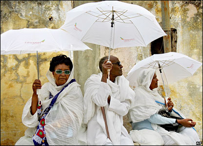 Cristãos Etíopes, bbc