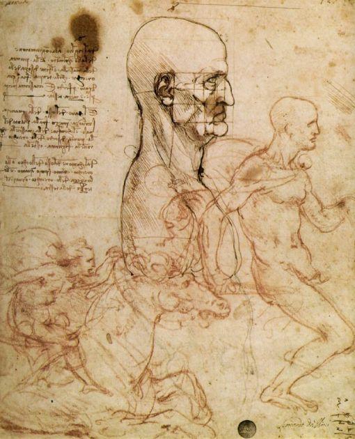 leonardo_anghiari sketch