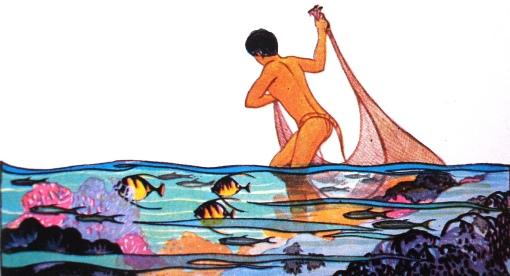 pescador, Lucille Holling