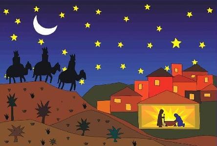 O pres pio poema de natal de joaquim serra for Mural sobre o natal