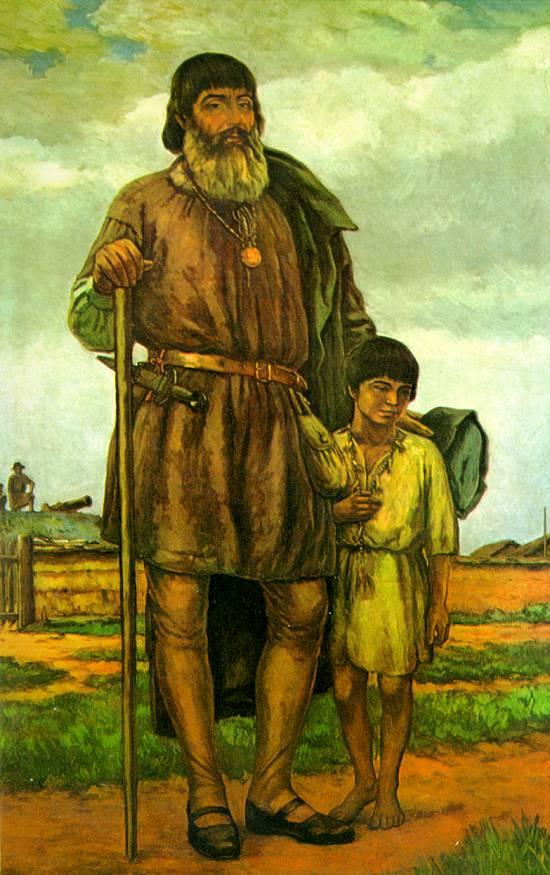 João Ramalho e seu filho