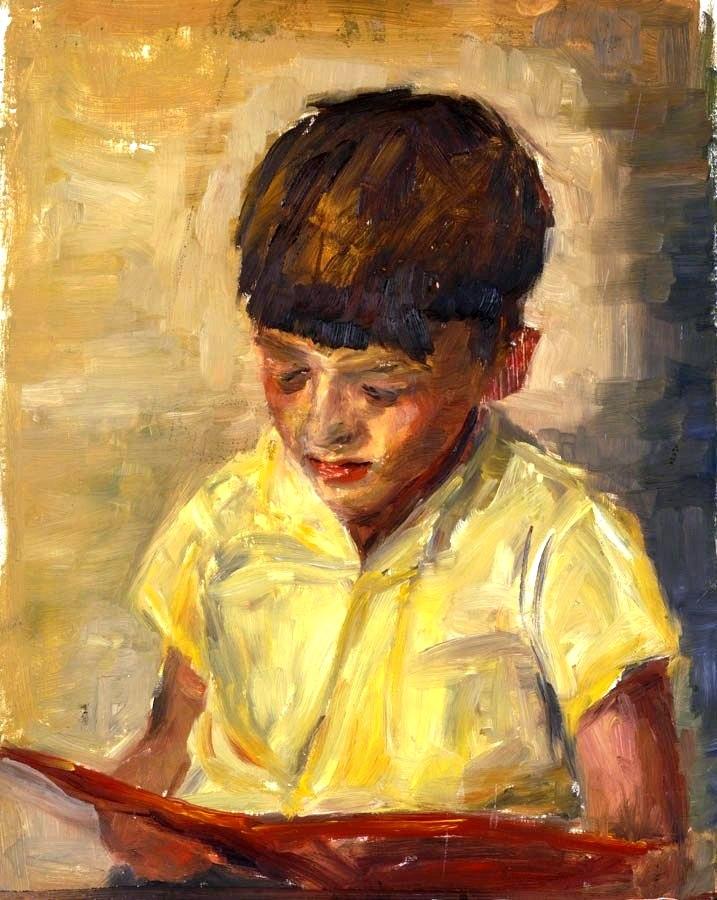 Resultado de imagem para criança lendo de cabeça para baixo