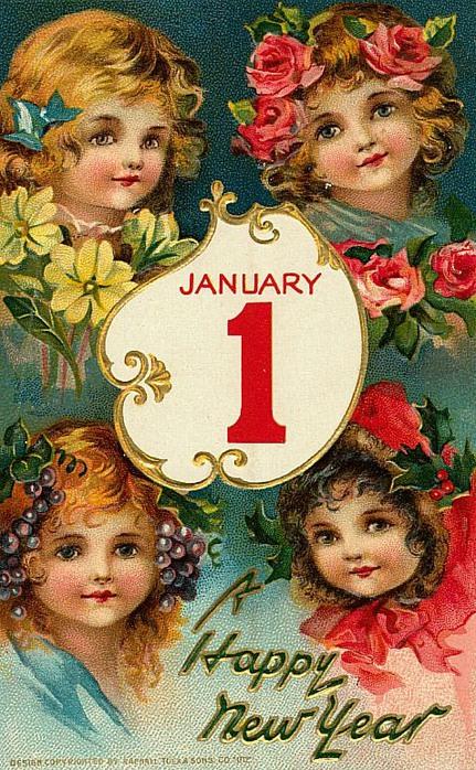 1 de janeiro, 3 quatro meninas