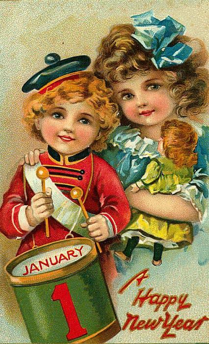 1 de janeiro, 8 com tambor e boneca