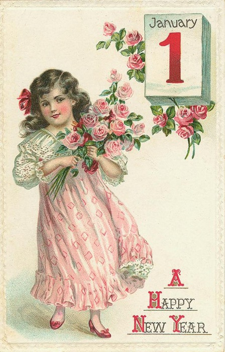 1 de janeiro, 9 com rosas