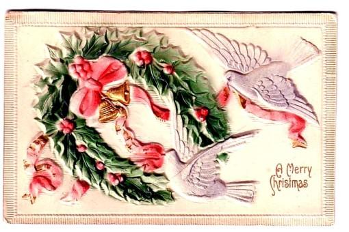 1 -- Natal com pombinhas e sino