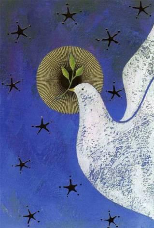 1 -- pombo voando