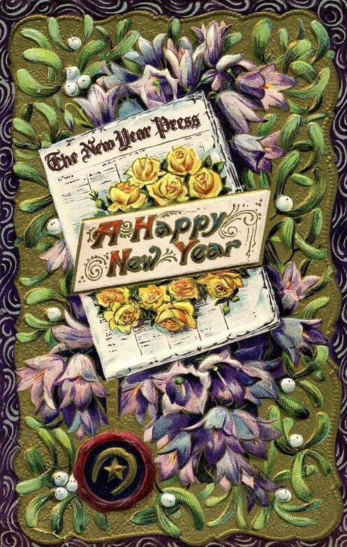 Ano NOVO com jornal