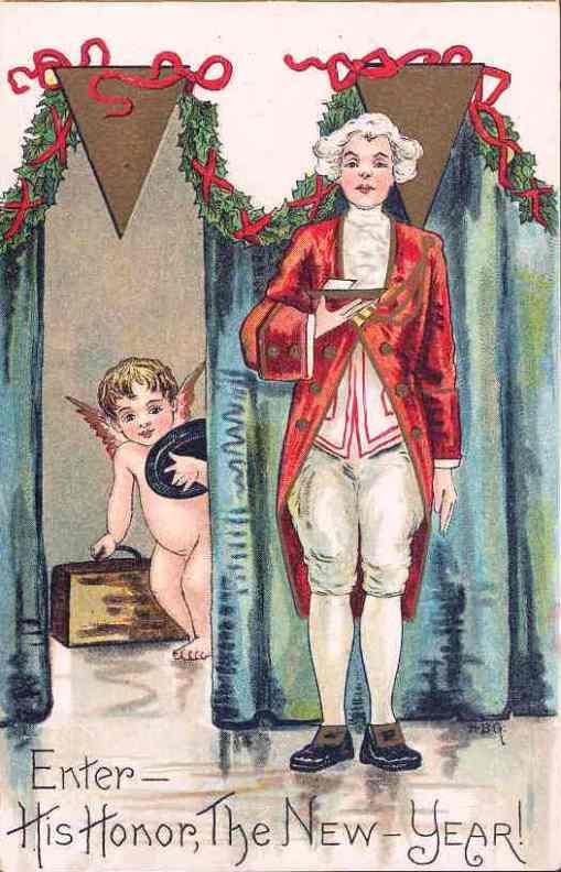 ano novo, virada do século, roupas sec xviii e bebe