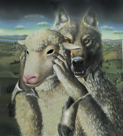 lobo e carneiro