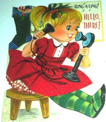 TELEFONE, 1950-60, natal