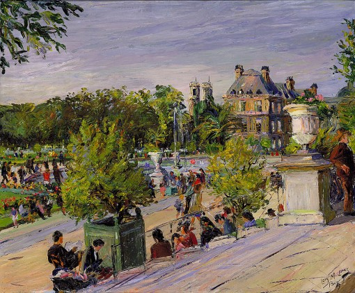 12_lois mailou jones_jardin du luxembourg_oleo tela_c. 1948