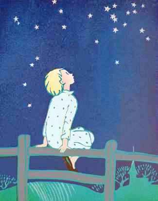céu estrelado Elisabeth Montgomery