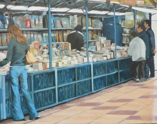 Manuel vacas(Argentina) Feira de livros