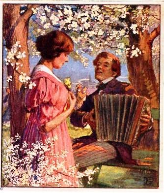 musica no jardim, 1918