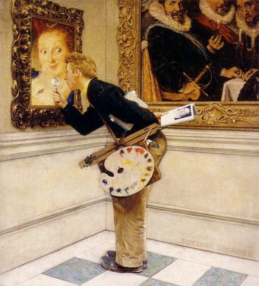 NormanRockwell_artCriticPainting