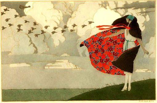 vento, andré edoaurd marty, 1919
