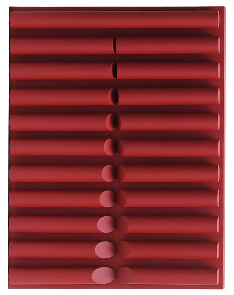 W. Radwan (Brasil, 1953)Encontros e desencontros,acrílica sPVC emadeira, 80 x 100 cm