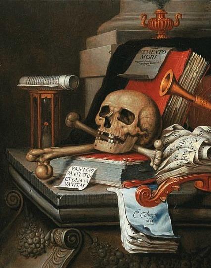 Edwaert Collier Vanitas Still Life 17th century. Edwaert Collier