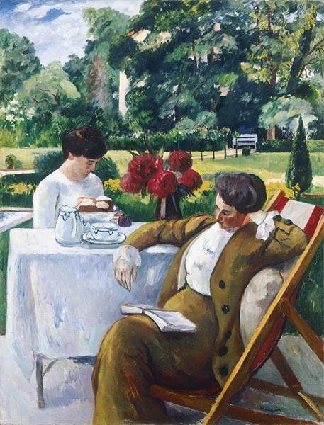 Henri Manguin (1874-1949) - Le thé à la Flora