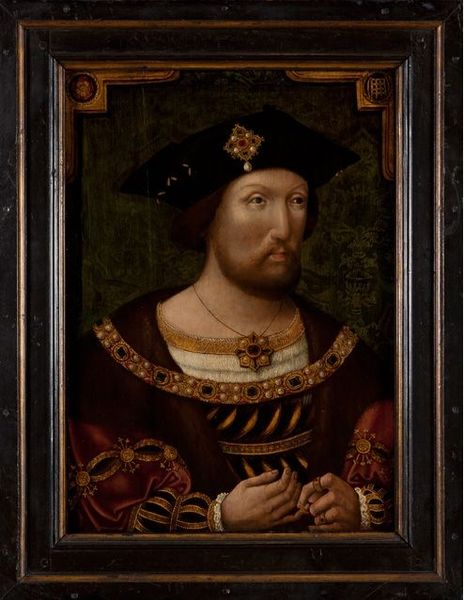 King Henry VIII, unknown Anglo-Netherlandish artist, c.1520,National Portrait Gallery, London.