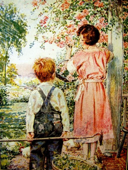 mãe e filho, 1922, John Rae