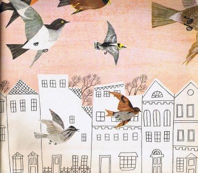Pássaros na cidade AliceMartin