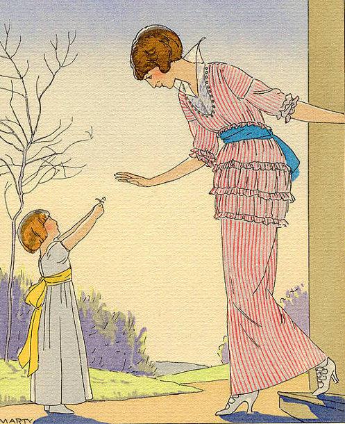 primeira flor do jardim, ilustração marty