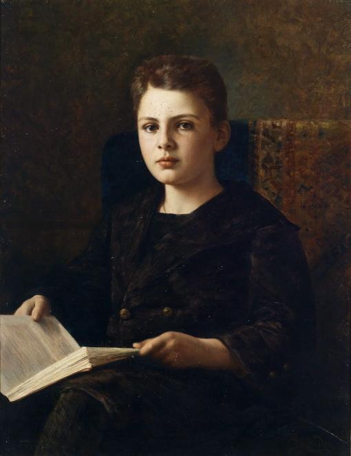Ignace_Spiridon_Portrait_des_jungen_Oskar_Fraenkel_1898