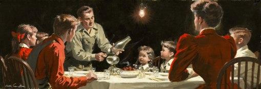 jantar em família Arthur SarnoffThanksgiving